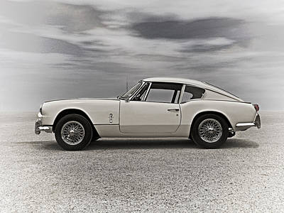 '67 Triumph Gt6 Poster by Douglas Pittman