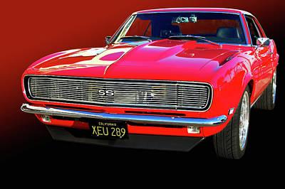 68 Ss Camaro Poster