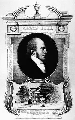 Aaron Burr (1756-1836) Poster by Granger