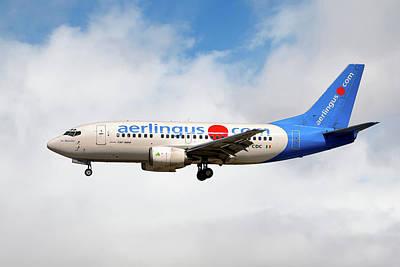 Aer Lingus Boeing 737-500 Poster