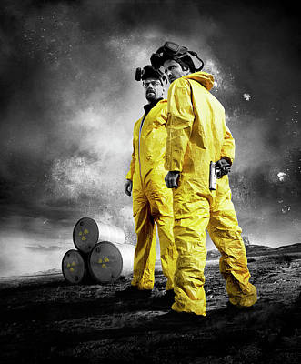 Breaking Bad 2008  Poster by Caio Caldas