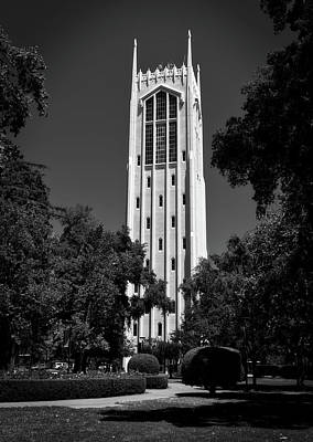 Burns Tower - University Of The Pacific Poster by Mountain Dreams