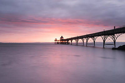 Clevedon Pier Poster by Don Hooper
