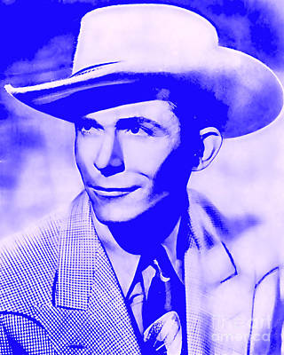 Hank Williams Collection Poster by Marvin Blaine