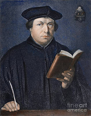 Martin Luther (1483-1546) Poster