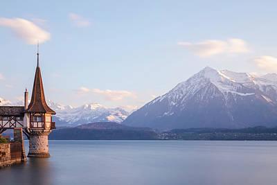 Oberhofen - Switzerland Poster by Joana Kruse