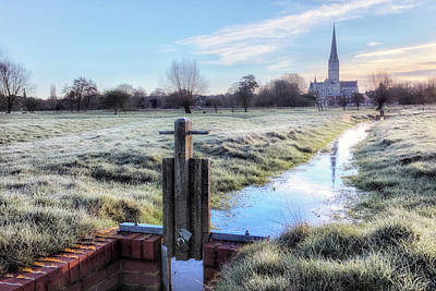 Salisbury - England Poster by Joana Kruse