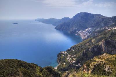 Sentiero Degli Dei - Amalfi Coast Poster