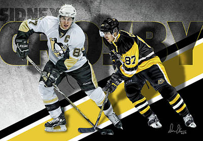Sidney Crosby Poster by Don Olea