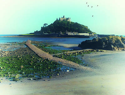 St Michaels Mount Poster by Martin Newman