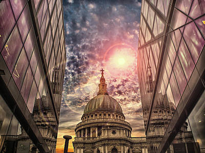 St Pauls Cathedral Poster by Martin Newman