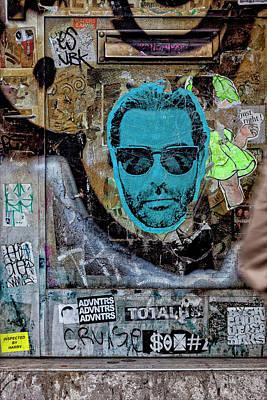 Street Art Lower Manhattan Poster by Robert Ullmann