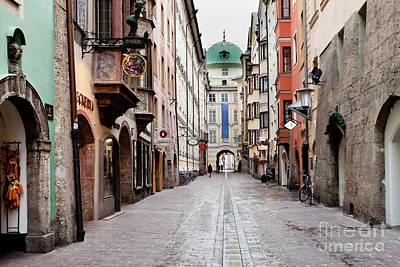 Streets Of Innsbruck Poster