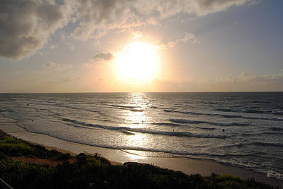 Sunset At Jaffa Beach 10 Poster