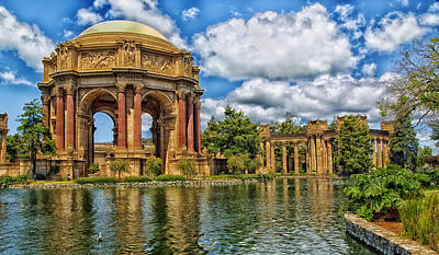 The Beautiful Palace Of Fine Arts - San Francisco Poster