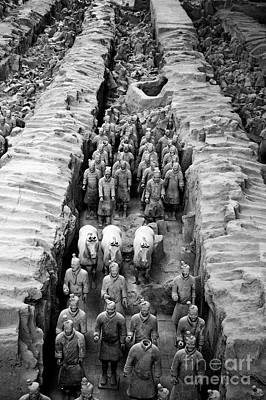 The Terracotta Army Poster by Sami Sarkis