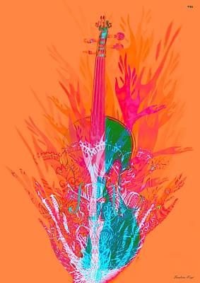 The Violin's Prayer Poster