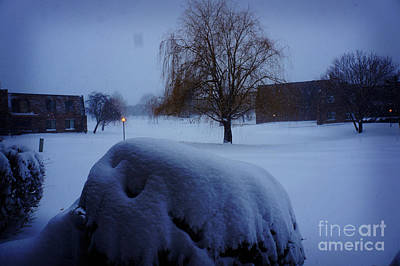 Winter Landscape  Poster by Celestial Images
