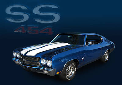 70 Ss 454 Poster by Bill Dutting
