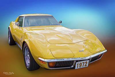 72 Corvette Poster