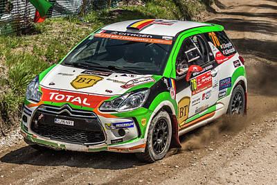 Wrc Rally Portugal 2016 Poster by Ernesto Santos
