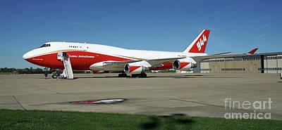 747 Supertanker Poster by Bill Gabbert