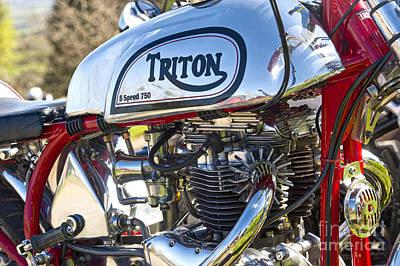 750 Triton Poster
