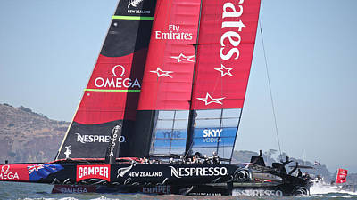 America's Cup 34 Poster