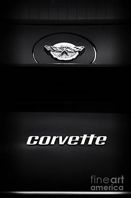 78 Corvette Poster by Tim Gainey