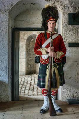 78th Highlander - Halifax Citadel - Nova Scotia - Canada Poster by Nikolyn McDonald
