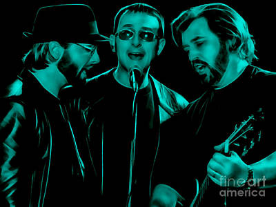 Bee Gees Collection Poster