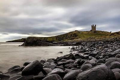 Dunstanburgh Castle Poster by David Pringle