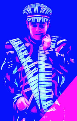 Elton John Collection Poster
