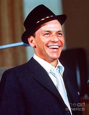 Frank Sinatra - Capitol Records Recording Studio Poster