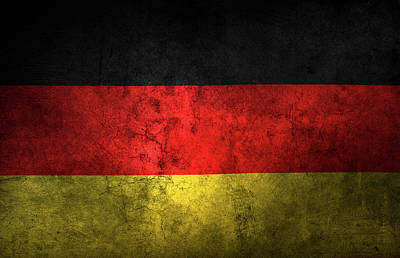 German Flag Poster by Les Cunliffe