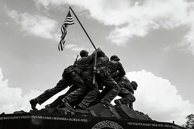 Iwo Jima Washington Dc Poster