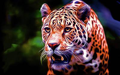 Leopard Poster