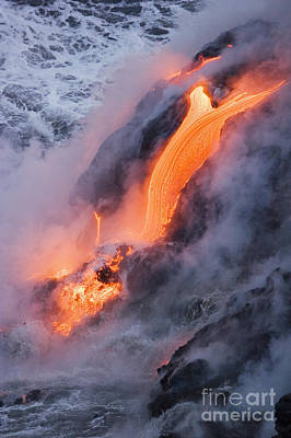 Pahoehoe Lava Flow Poster by Ron Dahlquist - Printscapes