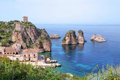 Scopello - Sicily Poster