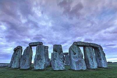 Stonehenge - England Poster