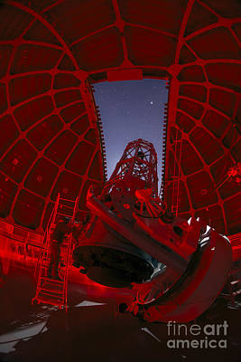 Telescope At Mount Wilson Observatory Poster by Babak Tafreshi