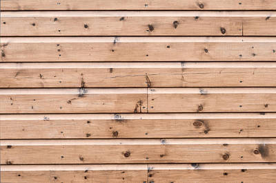 Wooden Panels Poster