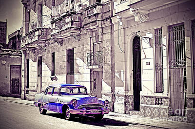 Havana, Cuba Poster by Chris Andruskiewicz