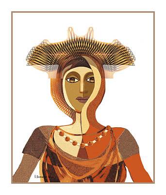 821 - Byzantine 2017 Poster by Irmgard Schoendorf Welch
