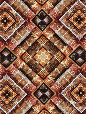 Unique Design Pattern Poster