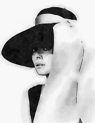 Audrey Hepburn Poster by John Springfield