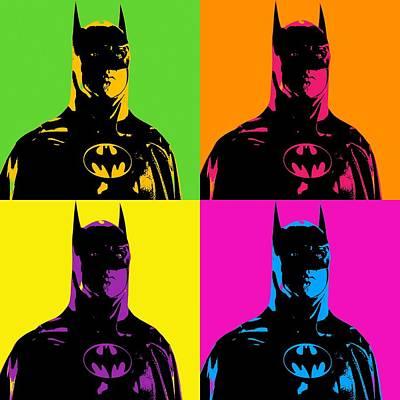 Batman Poster by Elena Kosvincheva