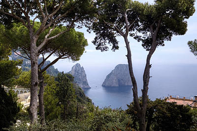 Faraglioni - Capri Poster by Joana Kruse