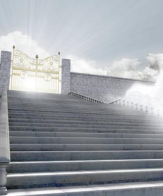 Heavens Gates Poster by Allan Swart