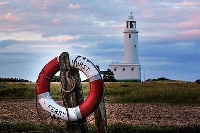 Hurst Point Lighthouse - England Poster by Joana Kruse